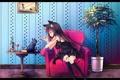 Картинка девушка, аниме, арт, upscale, sakurano miya