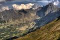 Картинка горы, польша, At Kasprowy Wierch
