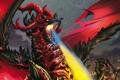Картинка Дракон, Пламя, Dragon, Дыхание