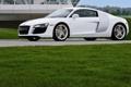 Картинка фото машин, белая, трава, белый, Audi тачки