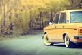 Картинка фото, обои, желтая, ваз, 2106