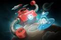 Картинка планеты, нло, робот, ракеты, инопланетяне