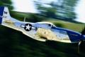 Картинка самолет, блеск, скорость, Mustang, мустанг, истребитель, P-51