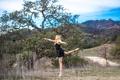 Картинка девушка, природа, танец