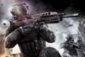 Картинка город, война, вертолет, солдаты, Call of Duty: Black Ops 2