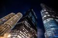 Картинка USA, здания, ночь, огни, чикаго, высотки, Chicago