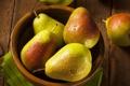 Картинка капельки, миска, фрукты, груши, fruit, drops, pear