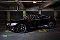 Картинка авто, гараж, Mercedes, coupe, Carlsson, черный мерс, CL 550