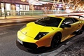 Картинка LP670-4, LAMBORGHINI, YELLOW, CITY, LIGHT, MURCIELAGO, SUPERVELOCE