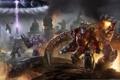 Картинка Трансформеры, Megatron, Optimus Prime, Transformers: Fall of Cybertron, Автоботы, Десептиконы