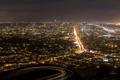 Картинка город, San Francisco, ночь, сша, вид, огни