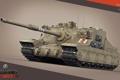 Картинка танк, Великобритания, танки, рендер, WoT, Мир танков, United Kingdom