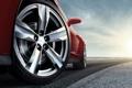 Картинка дорога, авто, колесо, Chevrolet, тачки, шевроле, Camaro ZL1