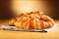 Картинка выпечка, croissant, breakfast, круассан, baked