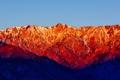 Картинка небо, пейзаж, горы, California