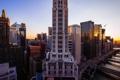 Картинка высота, Chicago, illinois, мегаполис, небоскребы, USA, Чикаго