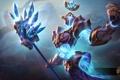 Картинка магия, кристаллы, hon, Heroes of Newerth, Revenant, Sapphire Paragon