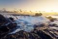 Картинка море, волны, скалы