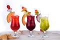 Картинка ice, fresh, tropical, summer, фрукты, sand, коктейль