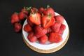 Картинка десерт, клубника, fresh berries, strawberry, ягоды