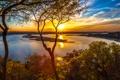 Картинка природа, река, The Oasis