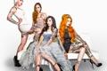 Картинка девушки, брюнетка, блондинка, рыжая, girls, tattoo, конкурс