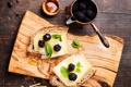 Картинка сыр, хлеб, бутерброд, ежевика, blackberry, cheese, sandwich