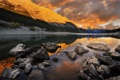 Картинка пейзаж, горы, природа, река, камни