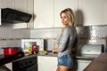 Картинка кухня, характер, девушка, Bad Teddy™, photographer, взгляд