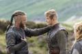 Картинка встреча, сериал, драма, Vikings, историческая, Викинги, Travis Fimmel