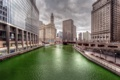 Картинка chicago, город, река