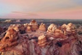 Картинка Vermilion Cliffs National Monument, Cottonwood cove, Coyote Buttes South, Arizona, sunset