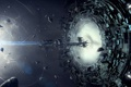 Картинка space, portal, spaceship