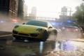 Картинка желтый, полиция, погоня, Need for Speed, Electronic Arts, porche, Most Wanted