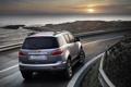 Картинка дорога, небо, вода, Chevrolet, concept, джип, внедорожник