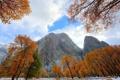 Картинка осень, пейзаж, горы