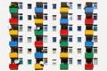 Картинка дом, стена, антенны, балконы