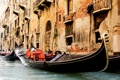 Картинка city, город, Италия, Венеция, канал, Italy, гондола