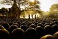 Картинка утро, Bagan, Баган, the morning