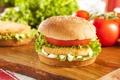 Картинка котлета, гамбургер, фаст фуд, fast food, сэндвич, кунжут, майонез