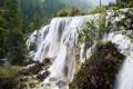 Картинка осень, лес, природа, Китай, водопады, национальный парк Цзючжайгоу, Paulo Coteriano photography