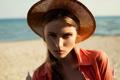 Картинка портрет, шляпка, прелесть, солнечно