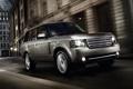Картинка отражение, ночь, блеск, хром, Range Rover