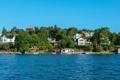 Картинка море, город, фото, дома, Швеция, Stockholm