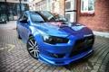 Картинка Mitsubishi, Blue, Lancer