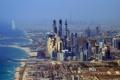 Картинка город, фото, небоскребы, Дубай, ОАЭ