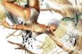 Картинка боец, попа, Ultra Street Fighter IV, рисунок, девушка, Elena, браслеты