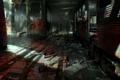 Картинка авария, метро, кровь, кости, тоннель, FEAR 3