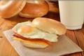 Картинка бутерброды, фото, еда, булочки, яичница, фастфуд