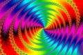 Картинка свет, узор, цвет, спираль, фрактал